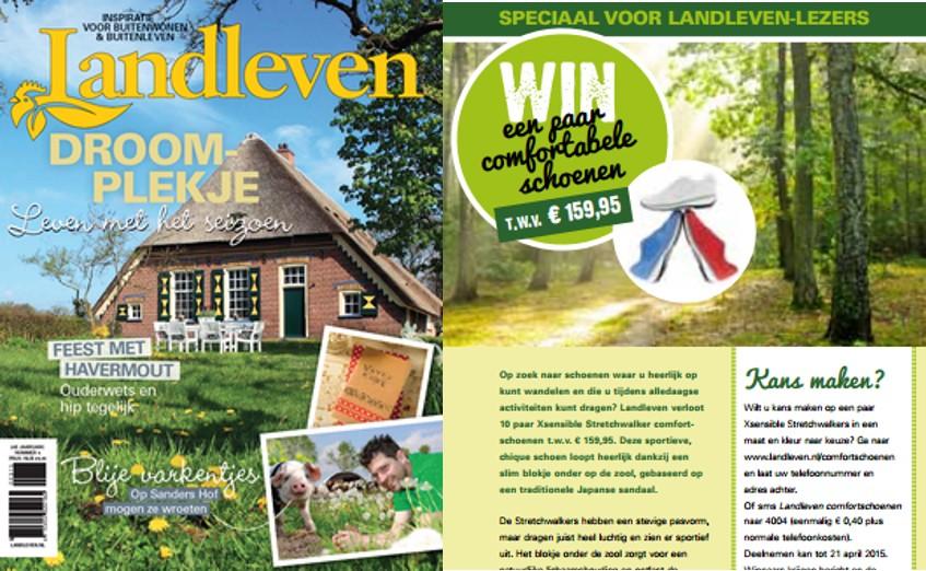 PR Matters Wijchen Winactie online en print met magazine Landleven