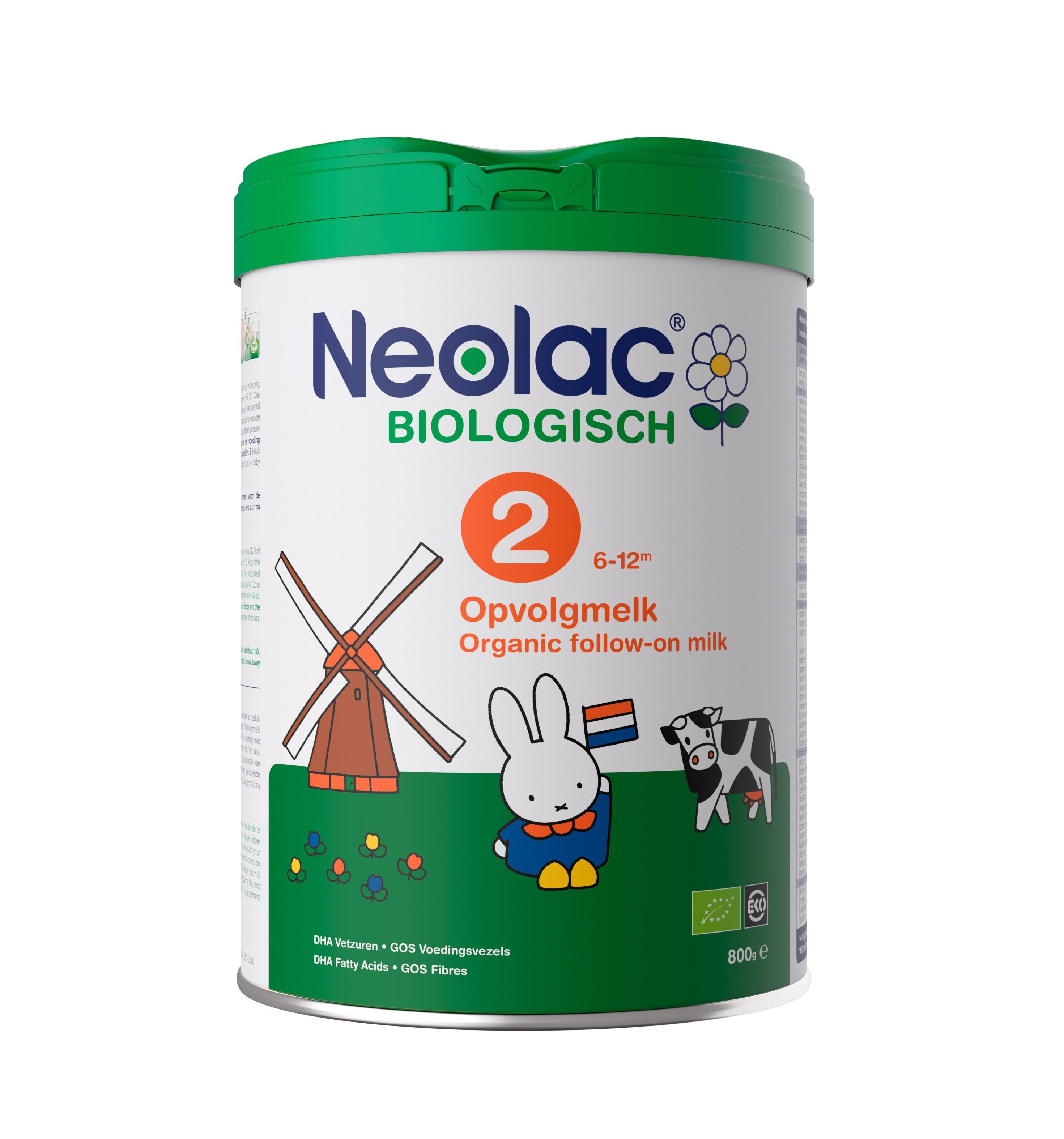 Neolac voeding groeispurt biologische kindervoeding- PRmatters