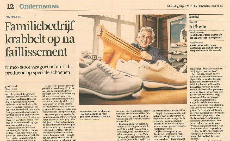 PR Matters Wijchen Storytelling in het Financieel Dagblad