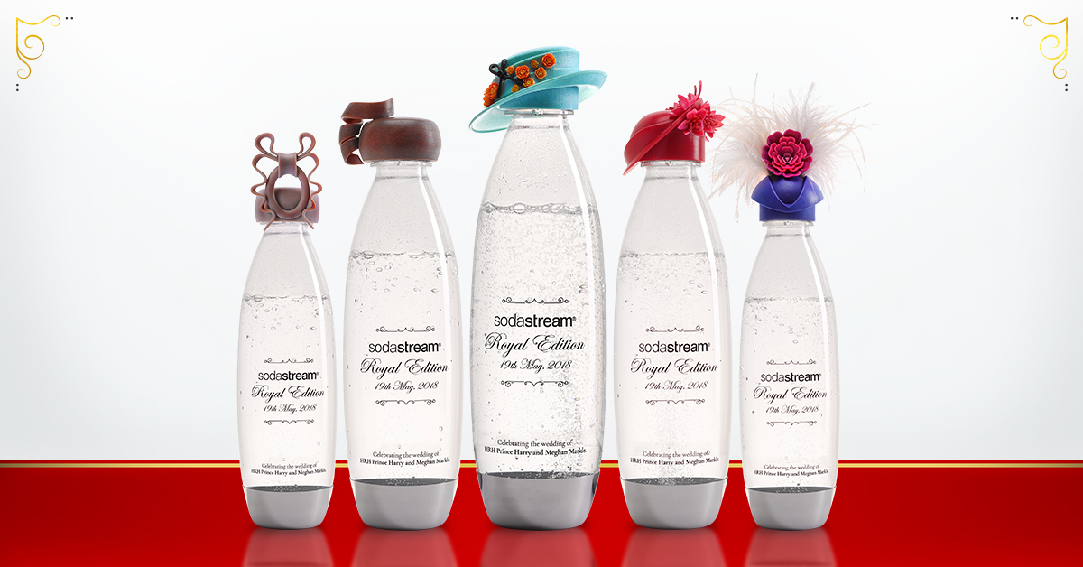 Sodastream koninklijke flessen - PRMatters